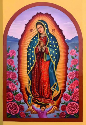 Our Lady of Guadalupe Mass - Wed. at 9 am