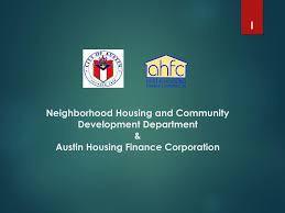 Neighborhood Housing and Community