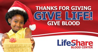 Save a Life - Donate Blood Friday!
