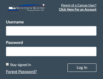 Canvas Access for Elementary Students