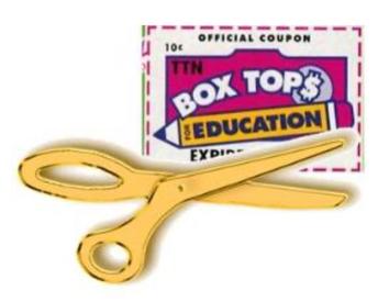 Golden Scissor Box Tops Collection Contest