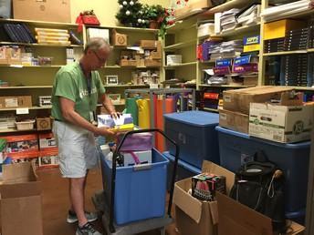 Mr. Kirk, Volunteer Extraordinaire!