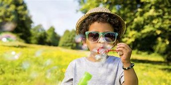 Blowing bubbles is not only fun, it's a great way to reduce stress and anxiety levels