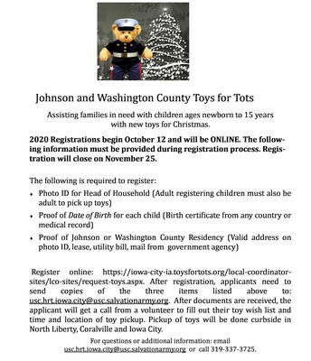 Johnson County Toys for Tots