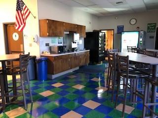 Staff Lounge- new flooring