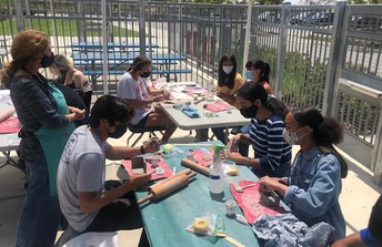 Mrs. Macias' Art class began their clay unit this week.
