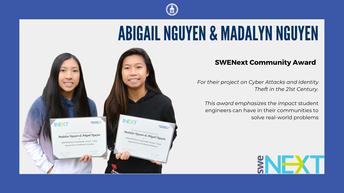 Madalyn Nguyen and Abigail Nguyen
