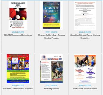 Events, Programs & Activities Around the Community