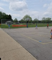 Wiffle ball in PE