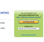 "You will be redirected to Amazon's website. Click ""Get library book."""