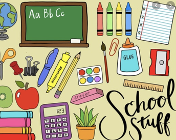 REMINDER: School Supplies Orders for 2020-2021