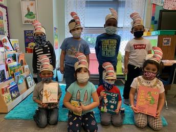 Primary Celebrates Read Across America Day
