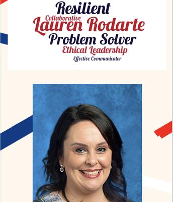 Rookie of the Year:  Lauren Rodarte!