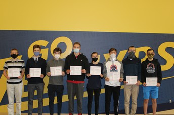 SMC Cross Country All-State Academic Award Winners