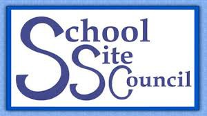 School Site Council Meeting, Wednesday 9/25