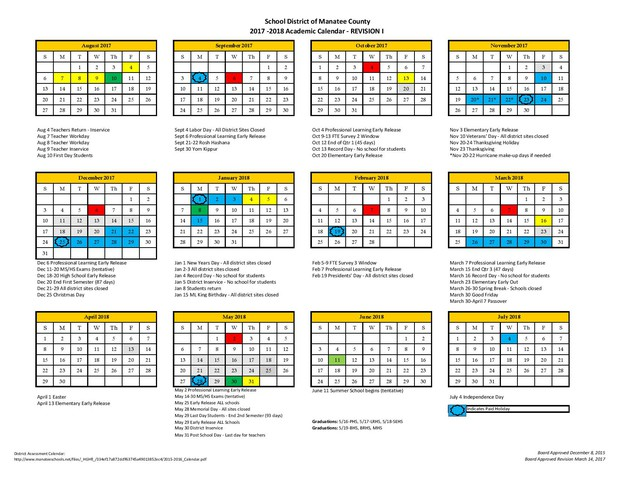 Manatee County School Calendar 2019 MSA Parent Update | Smore Newsletters for Education