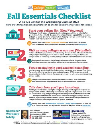Fall Essentials Checklist: A to-do list for the graduating class of 2022