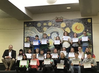 All the 6th grade Superstars!