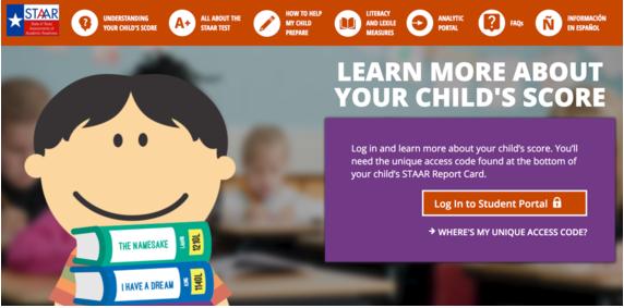 STAAR Parent Portal Access
