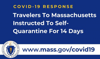 14 Day Self-Quarantine - Out of State Students