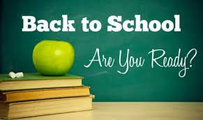 Beginning of School Year Information