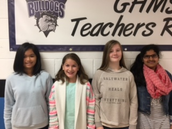 6th Grade Spelling Bee Champions