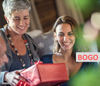 BOGO FREE and Share with your Spouse, Mom, Sister or Daugther