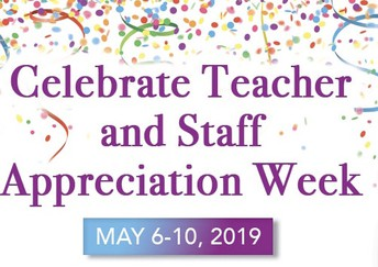 Wear Red in Appreciation for Educators on Wednesday, May 8th