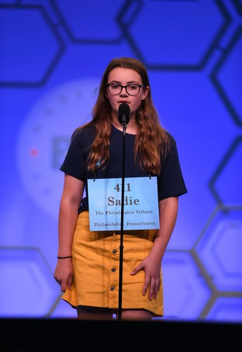 CBK's Sadie Leary Competes at Scripps National Spelling Bee