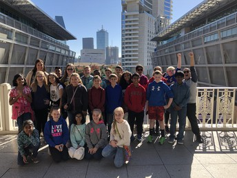 5th Grade trip to the AAC