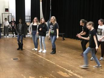 Drama team practice!