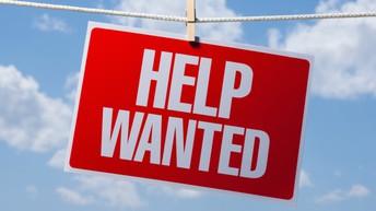 HELP WANTED - WE NEED YOU!