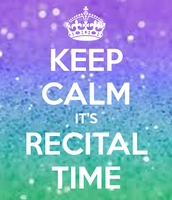 MORE RECITAL INFORMATION