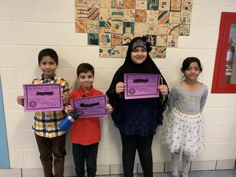 February Bravery Award Winners