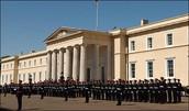 Invitation from the Royal Military Academy Sandhurst