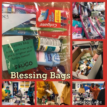 Student Council Blessings Bags