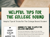Helpful Tips For The College Bound