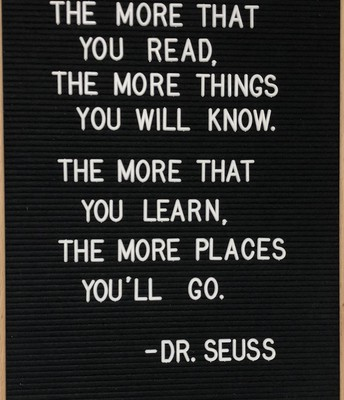 A Reminder From Dr. Seuss