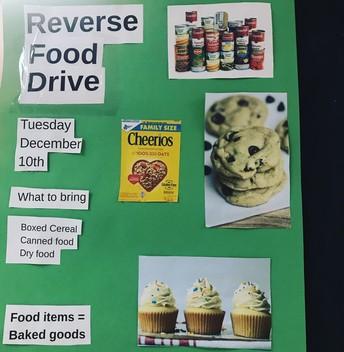 Reverse Food Drive