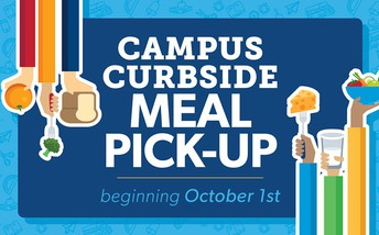 Campus Curbside Meal Pick Up