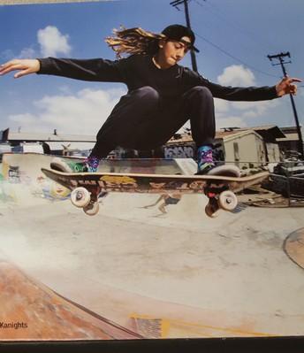 Skateboarding Champion, Minna Stess