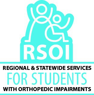 This image is the logo for RSOI, Regional & statewide services for students with orthopedic impairments. Click the link to access the RSOI webpage.