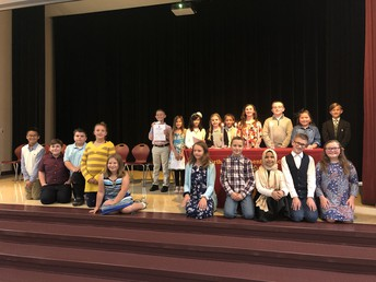 Our 2019-2020 National Elementary Honors Society