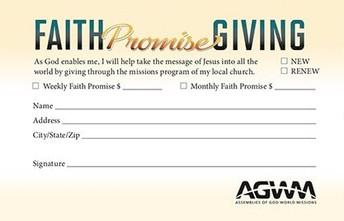Faith Promise Commitment
