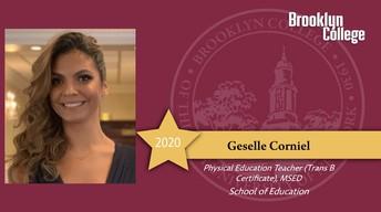 Congratulations Ms. Corniel