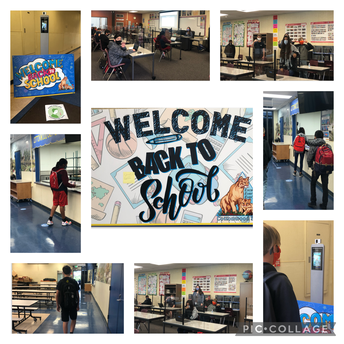 6th Graders Return to Campus