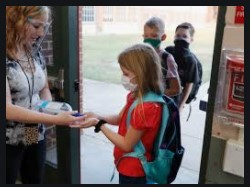 What do you and your child need to know BEFORE returning to campus on Monday, September 21st?