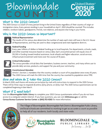 Be Counted! 2020 US Census