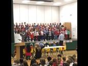 Our 3rd Graders singing patriotic songs