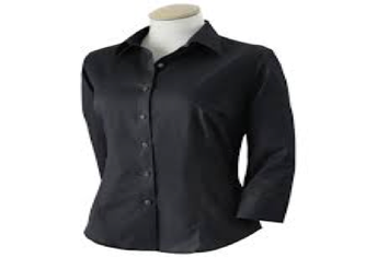 Long sleeve or 3/4 sleeve shirts or blouses